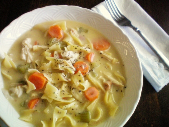 Crock Pot Creamy Chicken Noodle Soup | KeepRecipes: Your ...