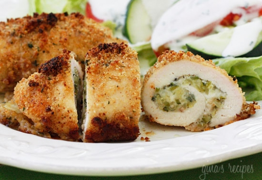Chicken Rollatini Stuffed with Zucchini and Mozzarella | KeepRecipes ...