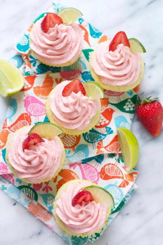 Strawberry Margarita Cupcakes Keeprecipes Your Universal Recipe Box