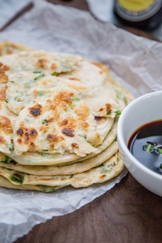 How To Make Scallion Pancakes | KeepRecipes: Your Universal Recipe Box