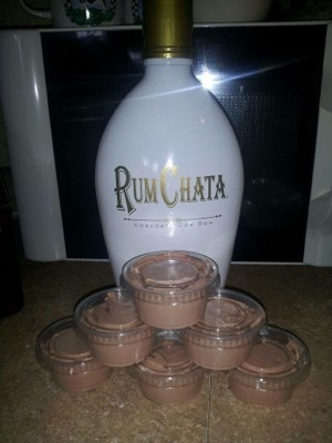 Rum Chata Pudding Shots   KeepRecipes: Your Universal Recipe Box