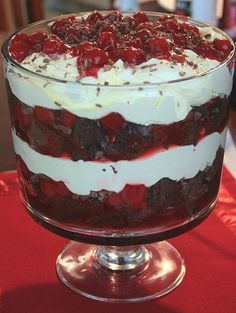 Black Forest Trifle Keeprecipes Your Universal Recipe Box