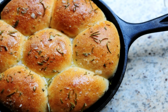 Buttered Rosemary Rolls | KeepRecipes: Your Universal Recipe Box