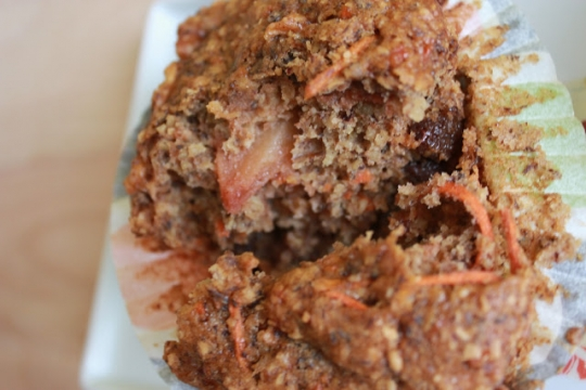 Bob's Red Mill Apple-Carrot Bran Flaxseed Muffins  KeepRecipes: Your Universal Recipe Box
