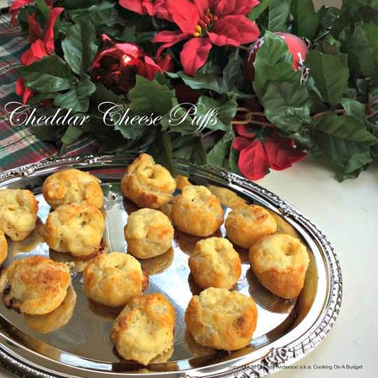 Cheddar Cheese Puffs | KeepRecipes: Your Universal Recipe Box