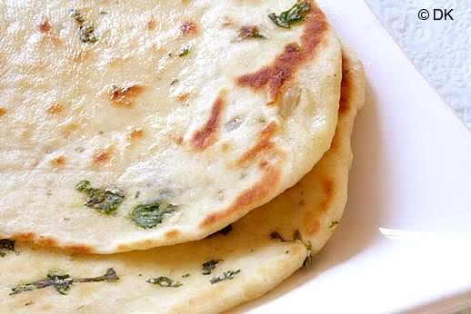 Cilantro and Coriander Naan Bread | KeepRecipes: Your Universal Recipe ...