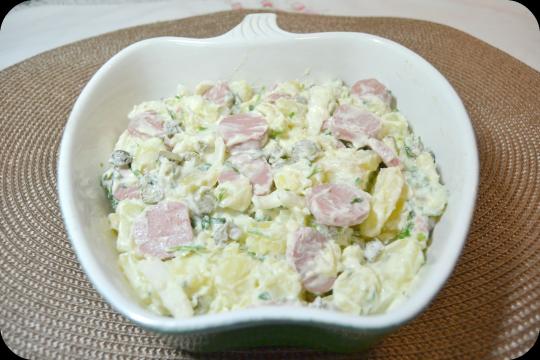 Kartofelsalat o ensalada alemana de patatas keeprecipes - Ensalada alemana de patatas ...