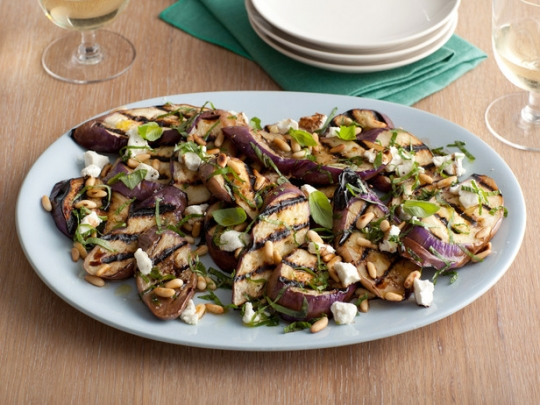Grilled Eggplant and Goat Cheese Salad | KeepRecipes: Your Universal ...