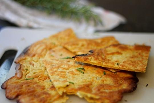 Chickpea pancakes (socca) recipe : SBS Food
