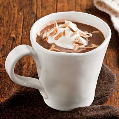 Nougat Hot Chocolate with Whipped Cream | KeepRecipes: Your Universal ...