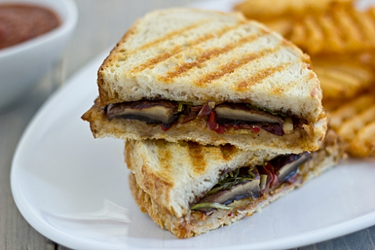 Grilled Portabella Panini with Artichoke Tapenade | KeepRecipes: Your ...