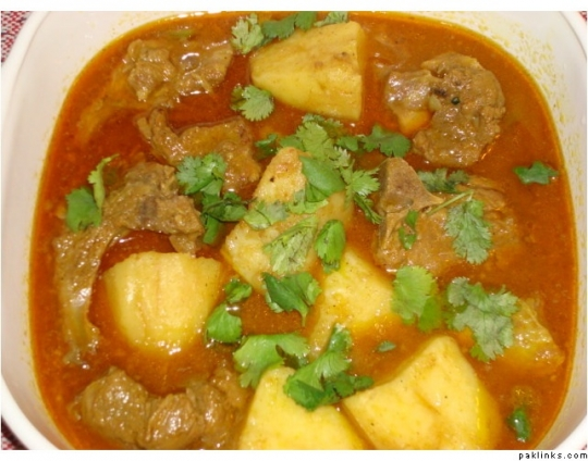 Aloo Gosht Keeprecipes Your Universal Recipe Box