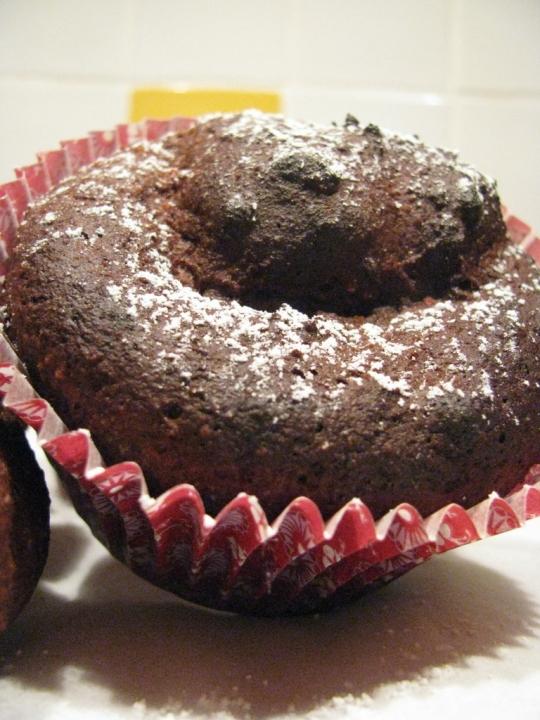 Low Calorie Chocolate Fudge Cake With Quark