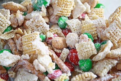 Chex Mix Christmas.White Christmas Chex Mix Keeprecipes Your Universal