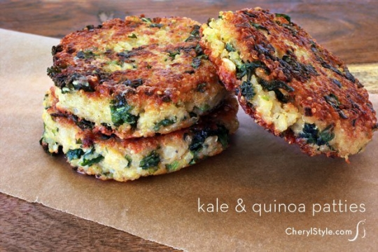 Kale-Quinoa Patties | KeepRecipes: Your Universal Recipe Box