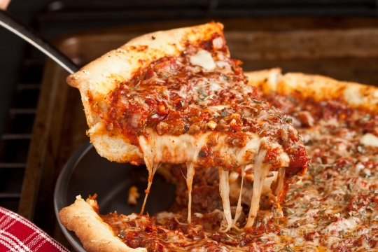 Food Network Chicago Deep Dish Pizza