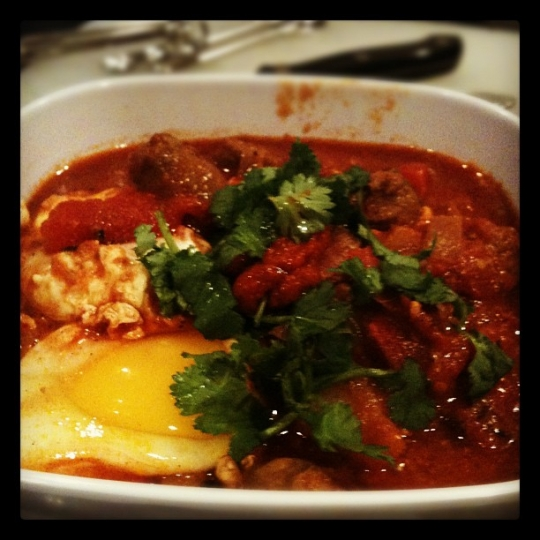 Moroccan Merguez Ragout With Poached Eggs | KeepRecipes ...
