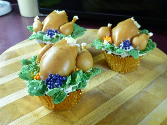 recipe: thanksgiving dinner cupcakes [29]