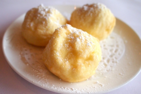 Shanghai Deep Fried Egg White Souffle Balls Stuffed With