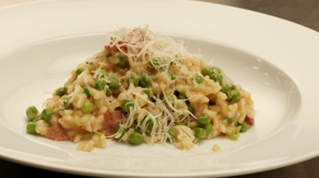 Pea and Bacon Risotto | KeepRecipes: Your Universal Recipe Box