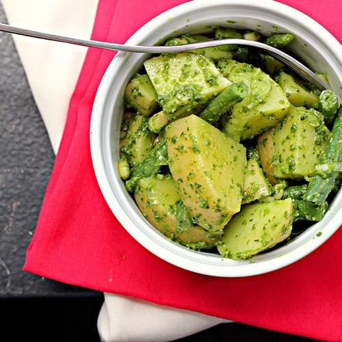 Pesto Potato Salad with Green Beans | KeepRecipes: Your Universal ...
