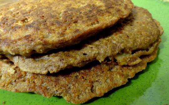 Whole Grain Pumpkin Pancakes | KeepRecipes: Your Universal Recipe Box