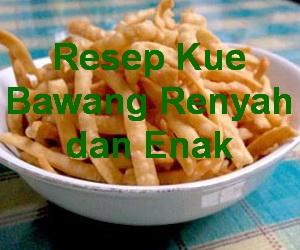 Kue Kering Lebaran Kue Stik Bawang Keeprecipes Your