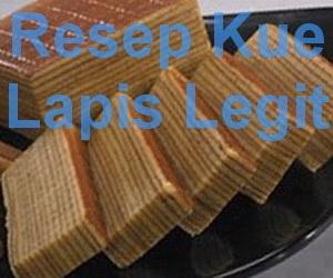 resep kue lapis legit CaraBiasa.com