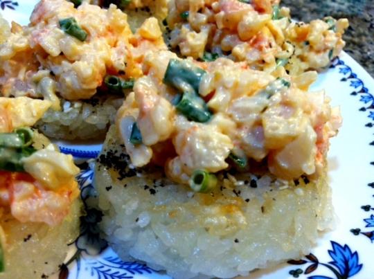Spicy Shrimp on Crispy Rice Cakes | KeepRecipes: Your Universal Recipe ...