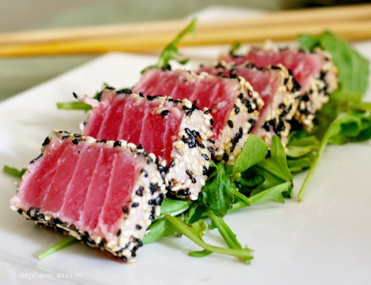 Seared Ahi Tuna Recipes Food Network