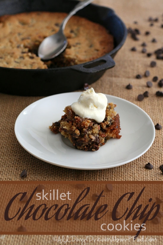 Skillet Chocolate Chip Cookies – Low Carb and Gluten-Free ...