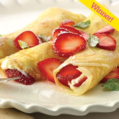 Strawberry Cream Cheese Campfire Crepes Keeprecipes