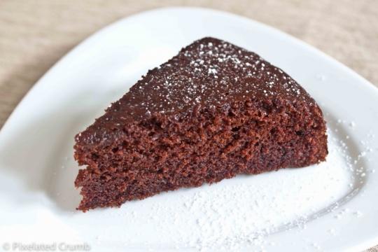 Быстрый пирог с шоколадом рецепт с фото