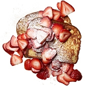 fr hst ck french toast mit erdbeeren keeprecipes your. Black Bedroom Furniture Sets. Home Design Ideas