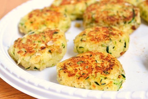 Zucchini Cakes | KeepRecipes: Your Universal Recipe Box