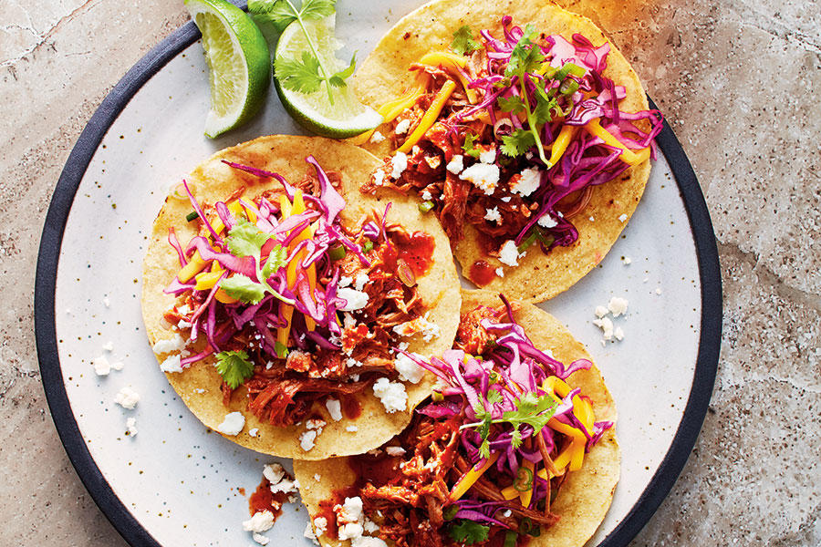 Chili chicken tacos with mango slaw | KeepRecipes: Your Universal ...