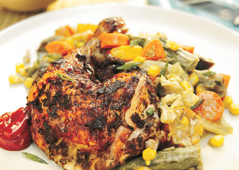 Jamaican jerk chicken keeprecipes your universal recipe box forumfinder Image collections