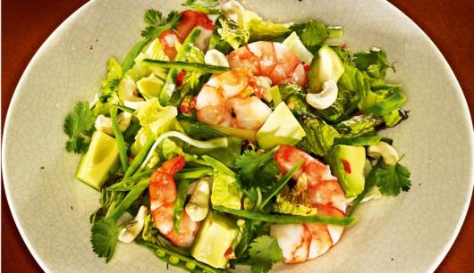 Salat von garnelen