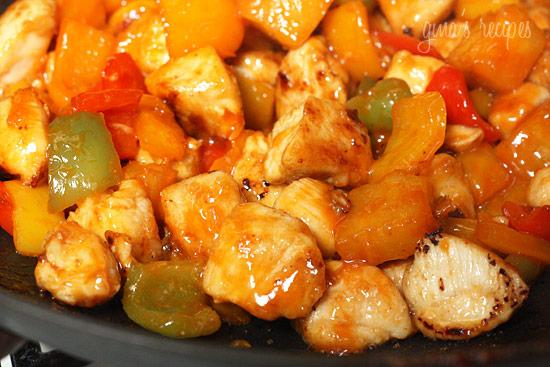 Thai Chicken Amp Pineapple Stir Fry Keeprecipes Your Universal Recipe Box