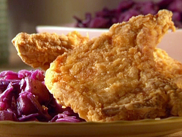 Chicken Fried Pork Chops With Chunky Pear Chutney Keeprecipes Your Universal Recipe Box