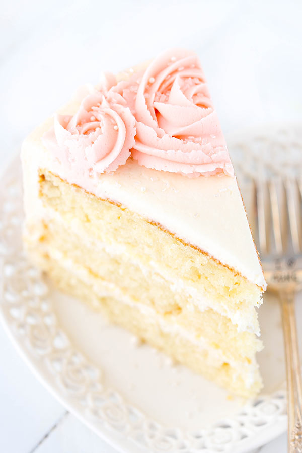 wedding cake recipe vanilla water vanilla layer cake keeprecipes your 23650