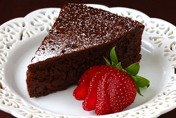 Flourless Chili Chocolate Cake