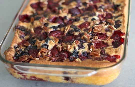Strawberry Blueberry Magic Cobbler Keeprecipes Your Universal Recipe Box
