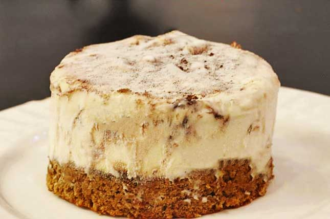 Tiramisu Ice Cream Cake | KeepRecipes: Your Universal Recipe Box
