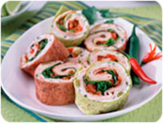 Turkey And Cheese Pinwheels Keeprecipes Your Universal