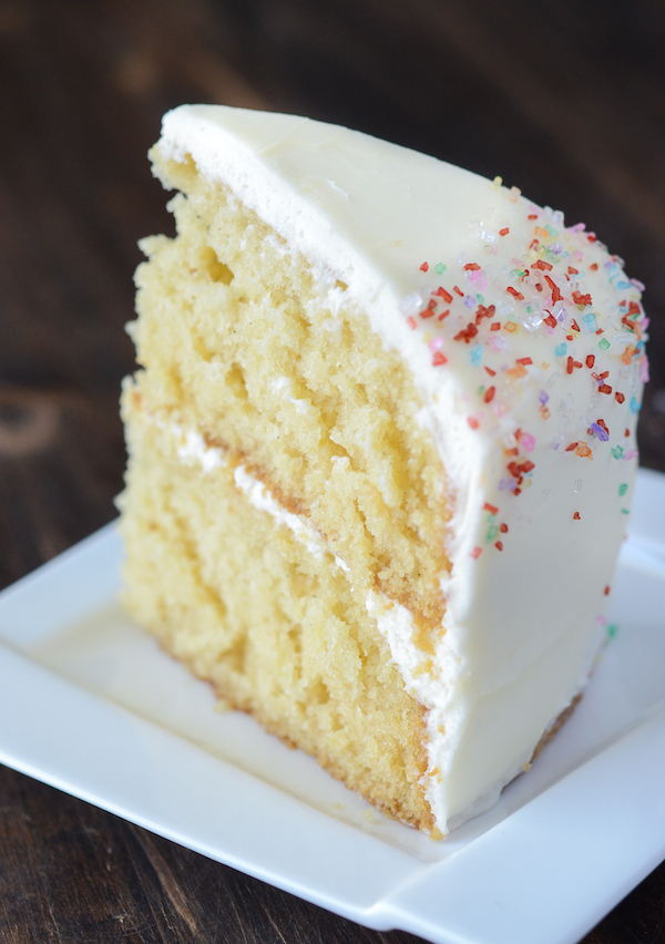 How To Make Plain Vanilla Cake From Scratch