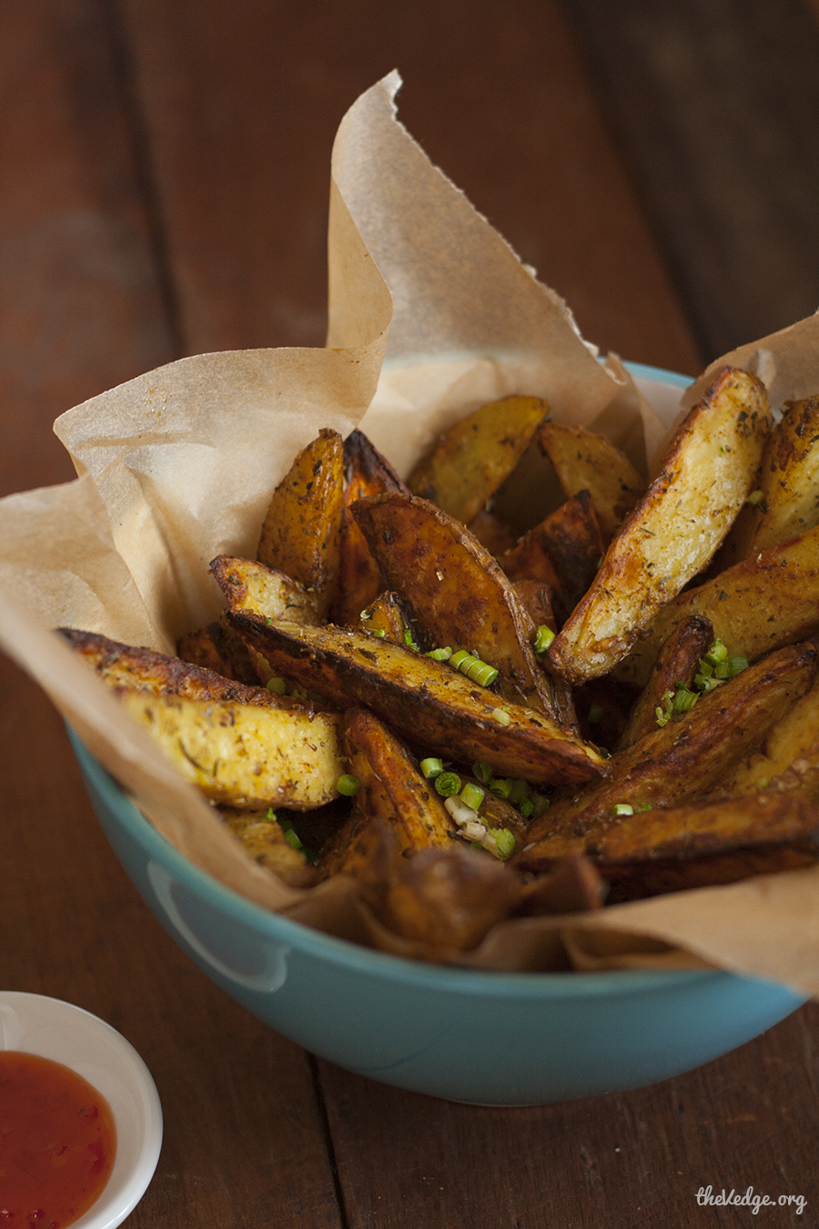 Oven-Baked Garlic Herb Potato Wedges | KeepRecipes: Your Universal ...